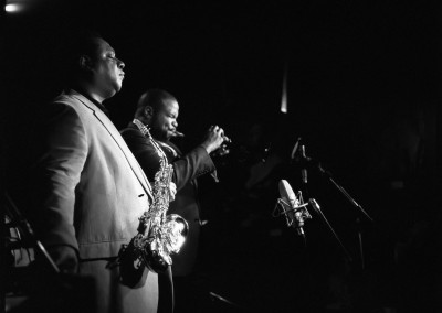 Vincent Herring and Jeremy Pelt, Cellar Jazz Club Vancouver 2013